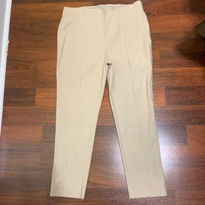 So Slimming by Chico's size 2 ankle tan pants